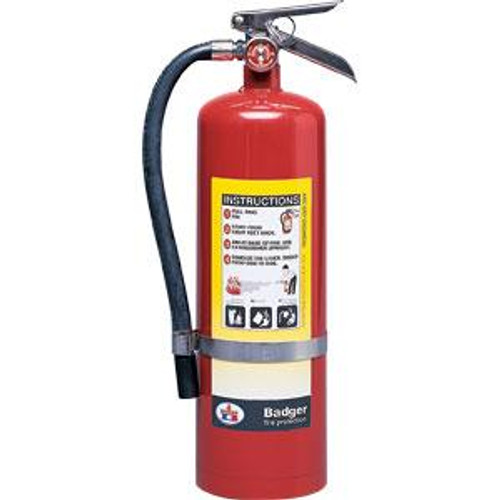 Badger™ Extra 10 lb ABC Fire Extinguisher w/ Wall Hook
