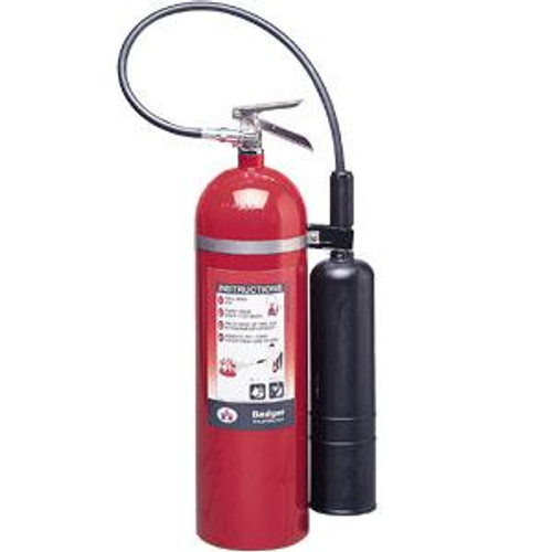 Badger™ Extra 15 lb CO2 Fire Extinguisher w/ Wall Hook