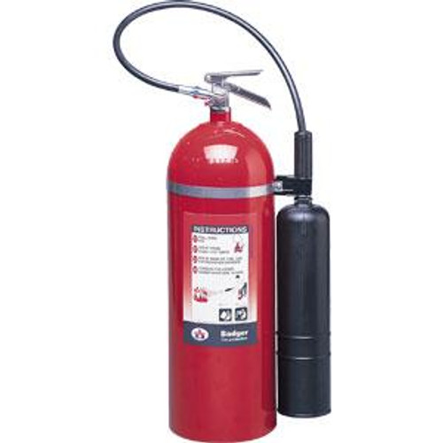 Badger™ Extra 20 lb CO2 Fire Extinguisher w/ Wall Hook