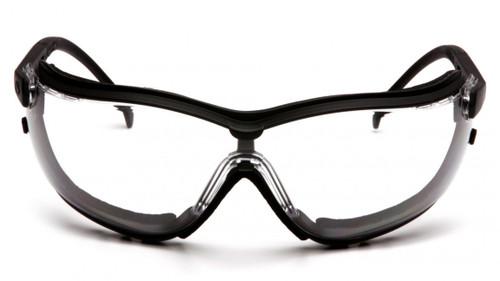 Pyramex V2G Clear AF Foam Eyewear w/Optional Strap - GB1810ST