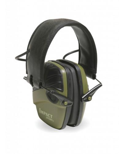 Howard Leight Impact Sport Electronic Earmuff - R-01526 - NRR 22