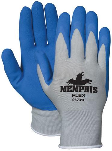 Memphis Flex Blue Foam Latex 96731 - Dozen [S-XL]