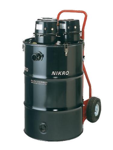 Nikro 55 Gallon Tri-Motor HEPA Vacuum (Dry) HD55345