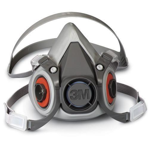 3M 6000 Series Half Face Respirator (S, M, L)