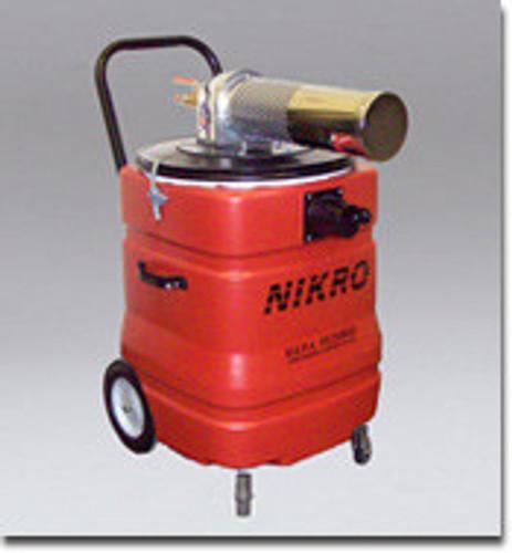 Nikro 15 Gallon Polyethylene Pneumatic Wet/Dry Vacuum - AWC15150