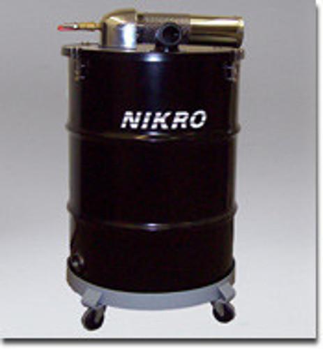 Nikro 55 Gallon Pneumatic Wet/Dry Vacuum - AWP55225