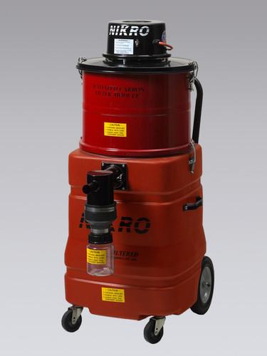 Nikro 15 Gallon Mercury Recovery Vacuum MV15110-PLY