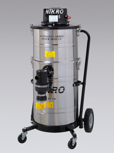 Nikro 15 Gallon Stainless Steel Mercury Recovery Vacuum - MV15110-SS