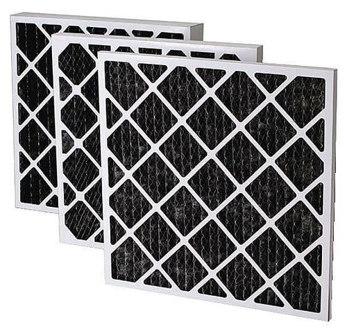 """16""""x16"""" Pleated Carbon Filter (Secondary) 12/case"""