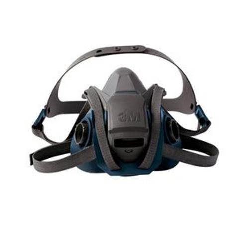 3M 6500 Series Rugged Comfort Quick Latch Half Facepiece Reusable Respirator (S,M,L)