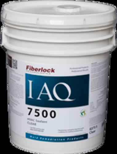Fiberlock IAQ 7500 HVAC Sealant- Clear - 5 Gallon