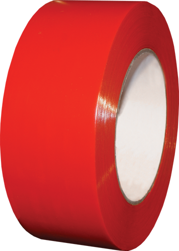 "SCAPA Polyflex 133 - 2"" Red Poly Tape - 24/Case"