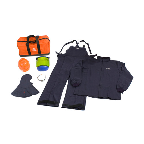 PIP HRC 3 ARC Flash Jacket/Overall Kit - 33 Cal/cm2 [Small - 6XL] - 9150-21712