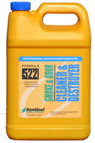 Sentinel 522 Smoke & Odor Cleaner & Destroyer - 5 Gallon Pail