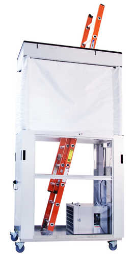 AIRE GUARDIAN® Mobile Dust Containment Cart AG8000 by Abatement Technologies
