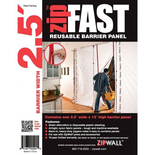 ZipWall ZipFast™ 2.5' Panel - ZF2
