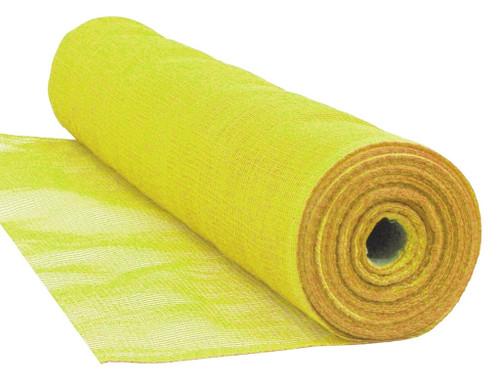 "Yellow Flame Retardant 1/4"" Mesh Debris Netting - 4' x 150'"