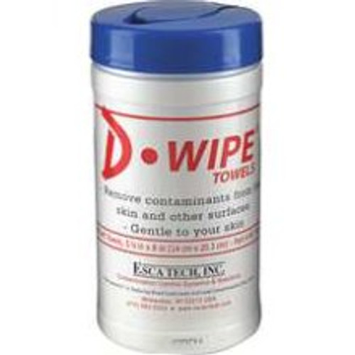 D-Wipe Skin Cleaning Lead Towels Canister - 1 Canister