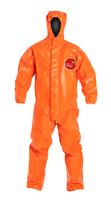 DuPont Tychem' 6000 FR Orange Coverall - TP198T OR BN