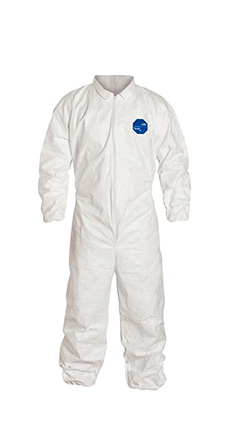 DuPont Tyvek' 400 White Coverall - TY125S WH NF