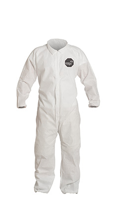 DuPont ProShield' 10 White Coverall - PB125S WH