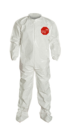 DuPont Tychem' 4000 White Coverall - SL121B WH