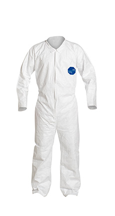 DuPont Tyvek' 400 White Coverall - TY151S WH