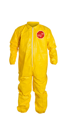 DuPont Tychem' 2000 Yellow Coverall - QC125S YL