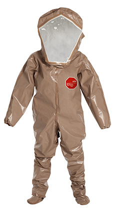 DuPont Tychem' 5000 Tan Coverall - C3528T TN BOOT