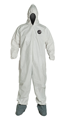 DuPont ProShield' 60 White Coverall - NG122S WH