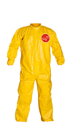 DuPont Tychem' 2000 Yellow Coverall - QC125T YL