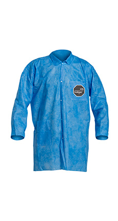 DuPont ProShield' 10 Blue Labcoat - PB212S BU