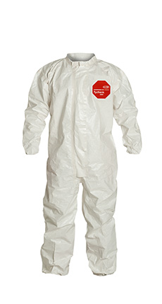DuPont Tychem' 4000 White Coverall - SL125T WH