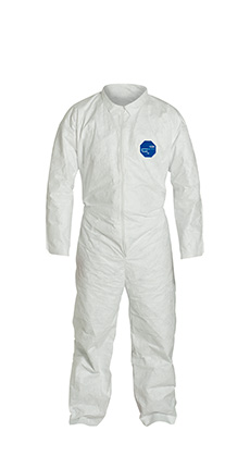 DuPont Tyvek' 400 White Coverall - TY120S WH NF