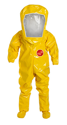 DuPont Tychem' 9000 Yellow Coverall - BR528T YL