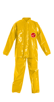 DuPont Tychem' 9000 Yellow Jacket/Bib Overall - BR753T YL