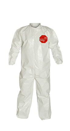 DuPont Tychem' 4000 White Coverall - SL125B WH