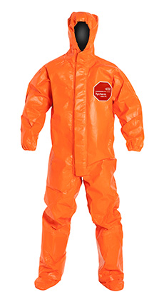 DuPont Tychem' 6000 FR Orange Coverall - TP199T OR BOOT