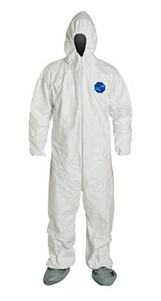 DuPont Tyvek' 400 White Coverall - TY122S WH NF