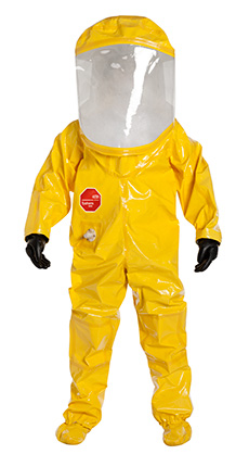 DuPont Tychem' 9000 Yellow Coverall - BR557T YL 7R