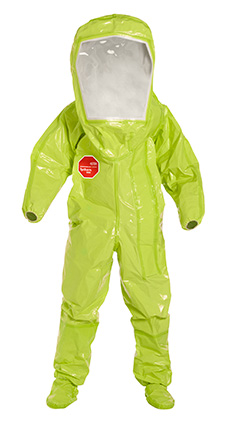 DuPont Tychem' 10000 Lime Yellow Coverall - TK527T LY