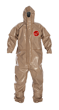 DuPont Tychem' 5000 Tan Coverall - C3198T TN