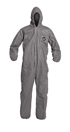 DuPont ProShield' 10 Gray Coverall - PB127S GY