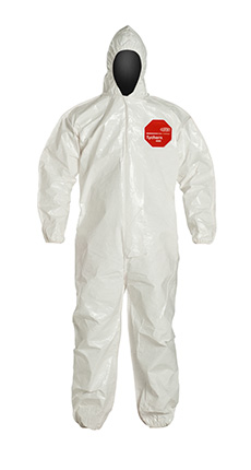 DuPont Tychem' 4000 White Coverall - SL127B WH