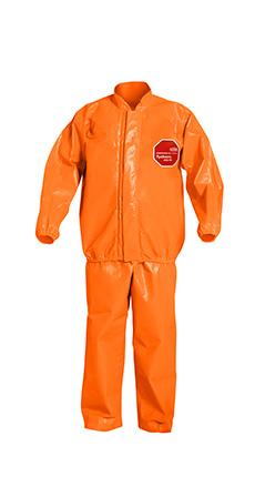 DuPont Tychem' 6000 FR Orange Jacket/Bib Overall - TP750T OR