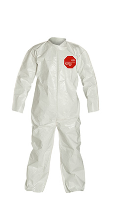 DuPont Tychem' 4000 White Coverall - SL120B WH