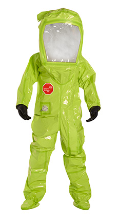 DuPont Tychem' 10000 Lime Yellow Coverall - TK552T LY 7R