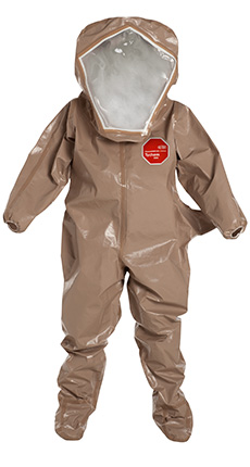 DuPont Tychem' 5000 Tan Coverall - C3526T TN BOOT