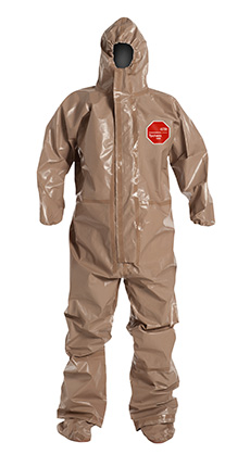 DuPont Tychem' 5000 Tan Coverall - C3199T TN BOOT