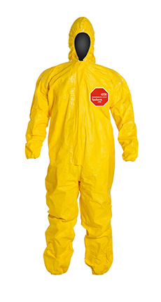DuPont Tychem' 2000 Yellow Coverall - QC127T YL